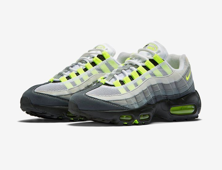 The Nike Air Max 95 Greedy launches in 2 hours via EU stockists.  http://ift.tt/1RWUaNg | Exclusive New Releases | Pinterest | Air max 95