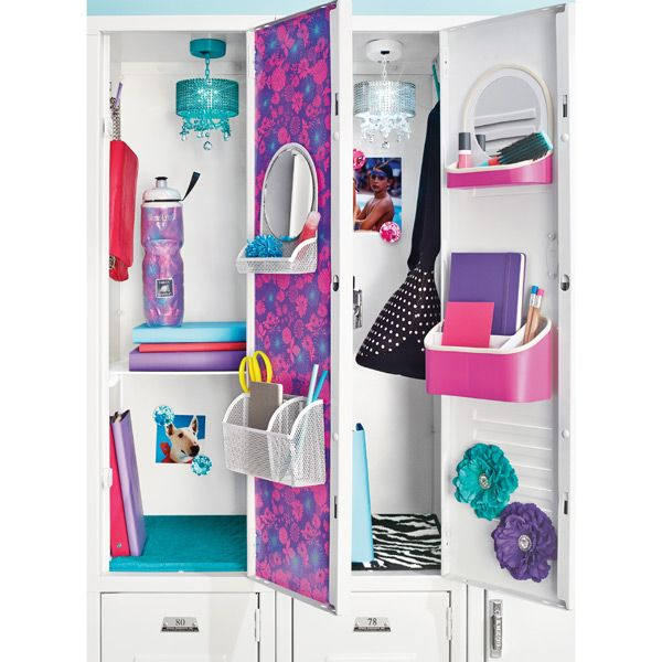 15 Cute Ways To Decorate Your Locker This Year Diy For School Pinterest Lockers And
