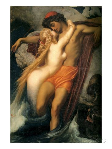 The Fisherman and the Siren Posters by Frederick Leighton - at AllPosters.com.au