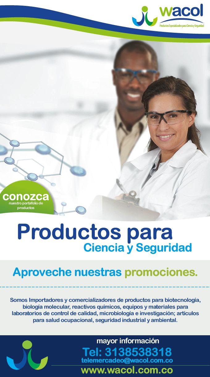 #NOVOCLICK esta con #Wacol con productos para ciencia y seguridad (con tecnología y calidad)