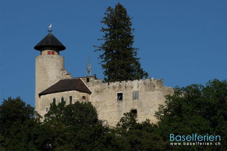 Die Schlossruine Birseck liegt in #Arlesheim, Baselland, bei der Ermitage Arlesheim, dem grössten englischen Landschaftsgarten der #Schweiz.