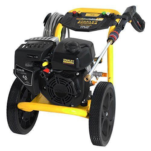 STANLEY FATMAX SXPW3324K 3300 PSI @ 2.4 GPM Gas Pressure Washer Powered by KOHLER (50-State) https://bestlawnmowersreview.info/stanley-fatmax-sxpw3324k-3300-psi-2-4-gpm-gas-pressure-washer-powered-by-kohler-50-state/