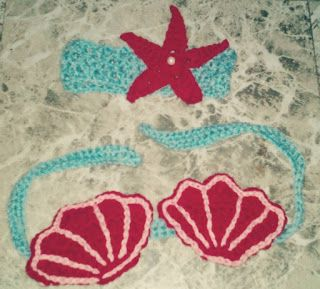 ♥Not Just An Ordinary Girl♥: Crochet Seashell Applique Free Pattern