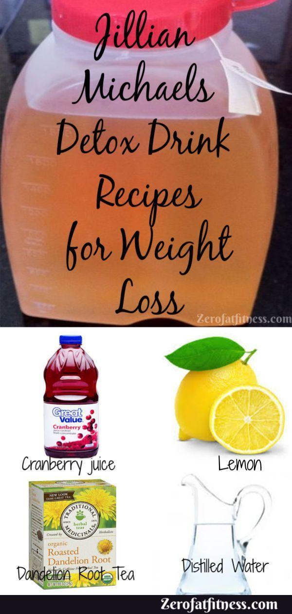 Jillian Michaels Detox Drink Gewichtsverlust Rezepte   – Ernährung