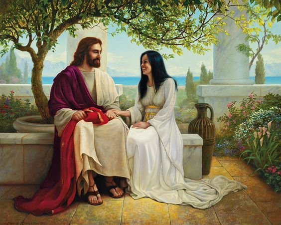 """White As Snow"" by Greg Olsen this is the picture after Forgiven. I love them!!!"
