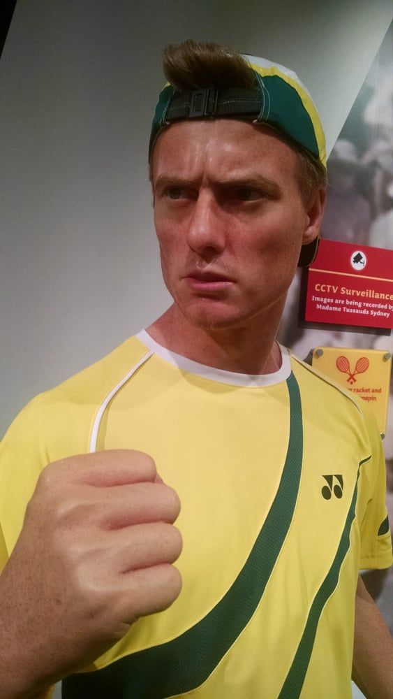 Photo of Madame Tussauds Sydney - Sydney New South Wales, Australia. Lleyton Hewitt