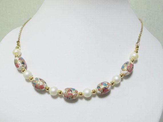 Japanese Tensha Pinwheel bead Matte white bead by littletuckshop, $35.00