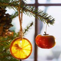 Easy-to-Make Fruit Christmas Ornaments