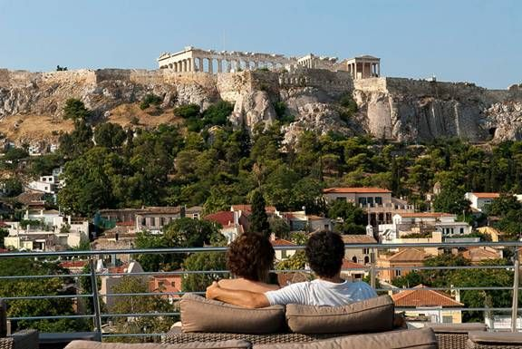 rooftop bar athens greece - Google Search