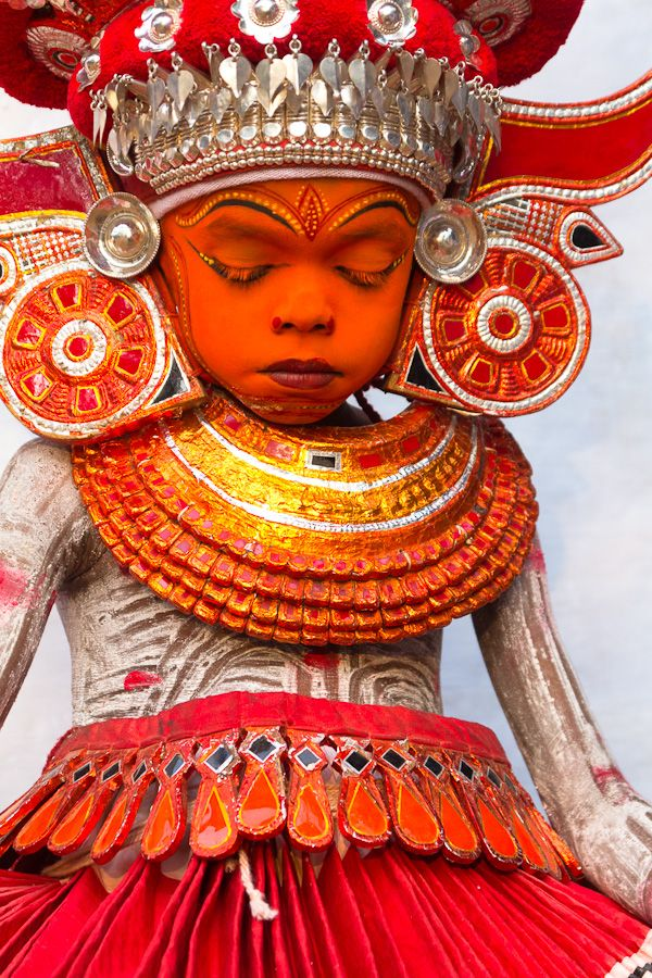 Theyyam Ritual, Kerala, India