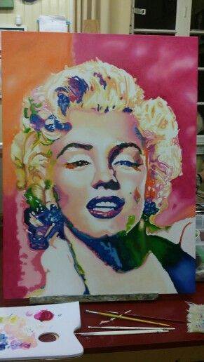 Marilyn Monroe tela 60 x 80 cm