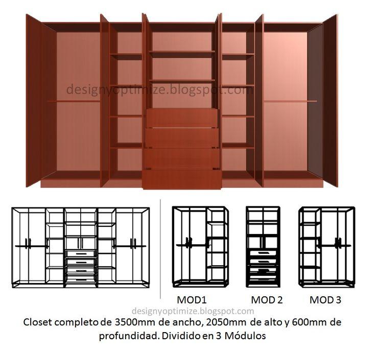 Dise os de muebles armarios cocinas bibliotecas etc for Software fabricacion de muebles