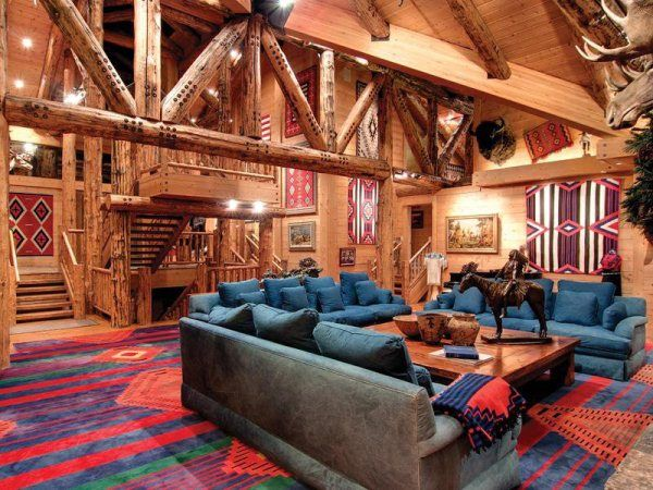 This Is A Park City Log Home The Exudes Just The Kind Of Homey Luxury  Sylvia. Jon HuntsmanLog Cabin HomesLog ...