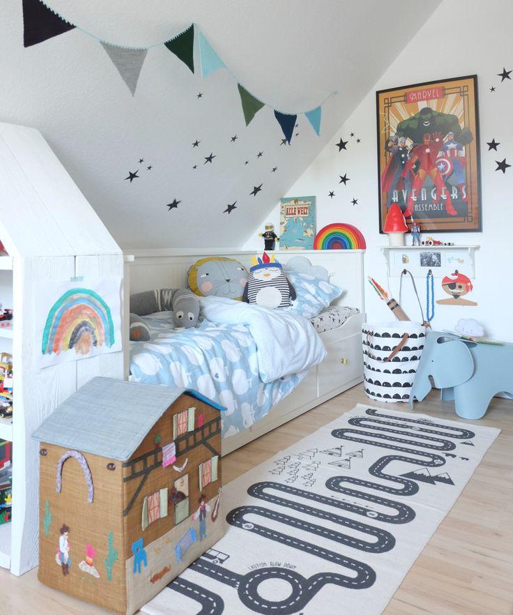 Werbung / Kinderzimmer Styling – Dekorieren mit viel Platz für Fantasie und ein Wolkenrausfallschutz DIY
