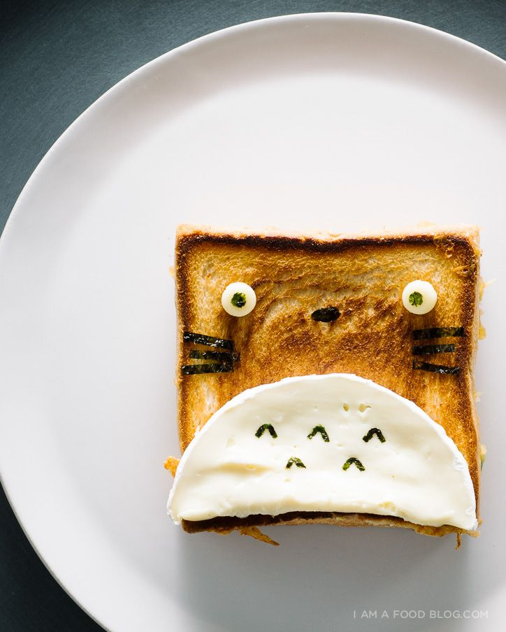 Totoro Jalapeno Grilled Cheese