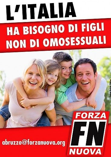 L'Italia ha bisogno di tante cose, non di Forza Nuova