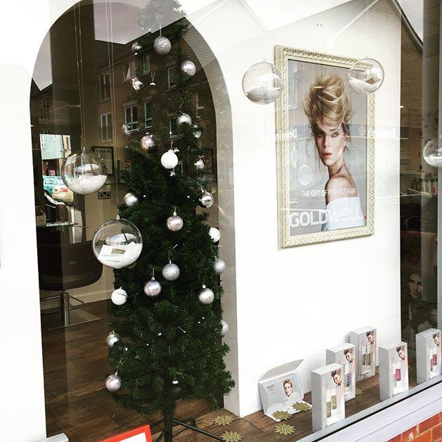 Christmas has arrived! #Christmas #hairsalon #miltonkeynes