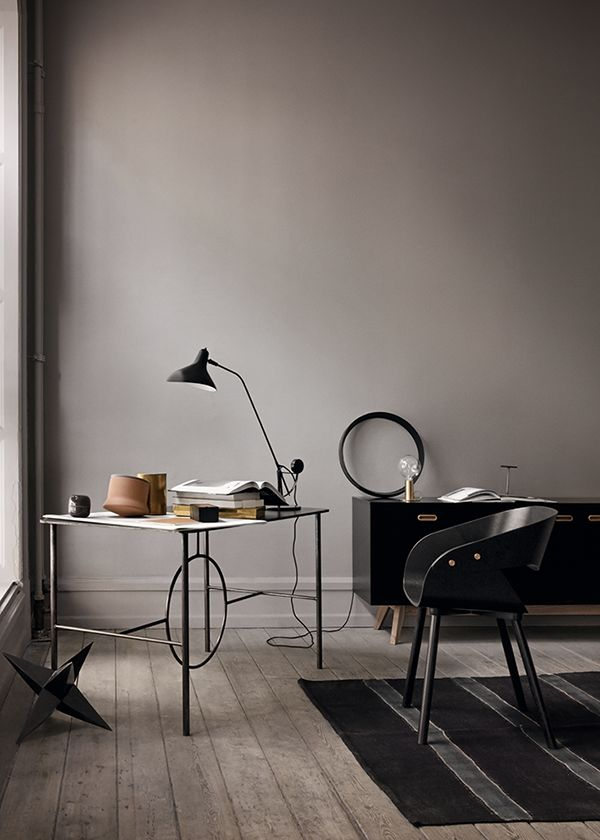 25 trending grey office ideas on pinterest office room ideas stripe walls and grey striped walls. Black Bedroom Furniture Sets. Home Design Ideas