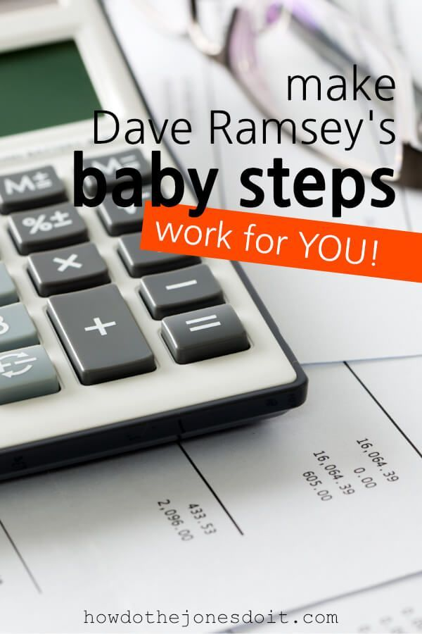 How To Make Dave Ramsey\u0027s 7 Baby Steps Work For YOU! Get out of