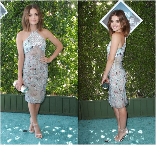 Lucy Hale at Teen Choice Awards | GlitzyCorner