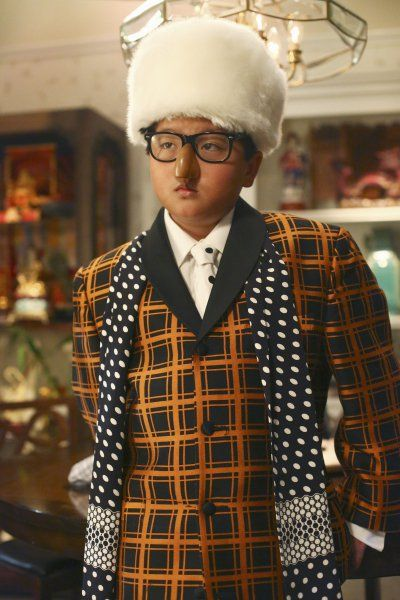 Pin for Later: The Best TV Character Halloween Costumes Fresh Off the Boat Eddie (Hudson Yang) goes with the Humpy Hump look for Halloween.