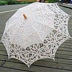 Mariage / Plage / Quotidien / Mascarade Dentelle / Coton Parapluie Env.66cm Métal / Bois Env.78cm de 2017 ? €24.49