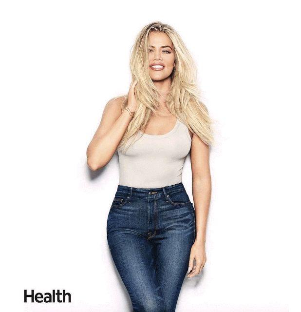 GIF Khloé Kardashian in jeans