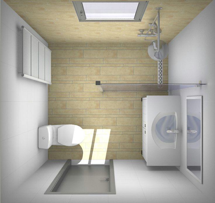 25 beste idee n over kleine appartement badkamers op pinterest appartement badkamer decoreren - Kleine betegelde badkamer ...