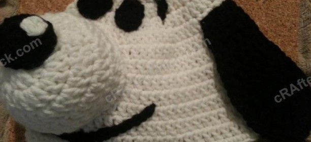 Charlie Brown's Snoopy the Dog Character Hat Crochet Pattern ☀CQ #crochet #crafts #DIY