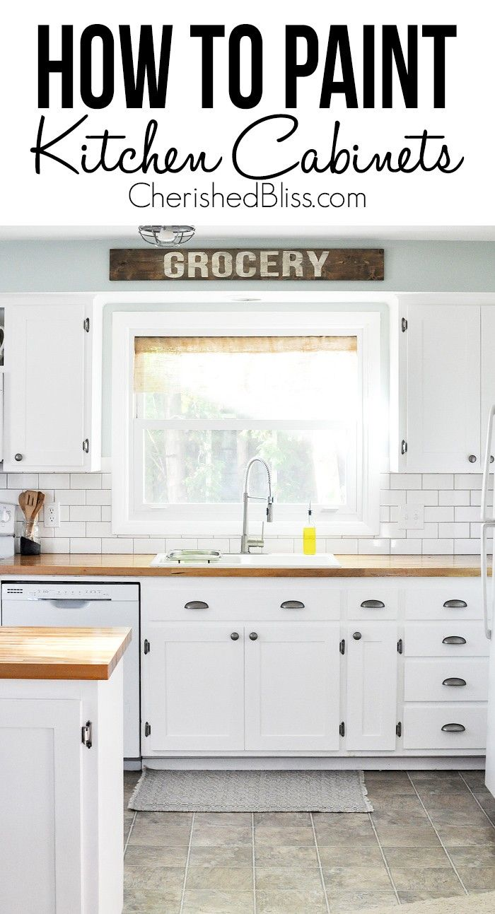 Tips On How To Paint Kitchen Cabinets How To Paint Paint And Tips