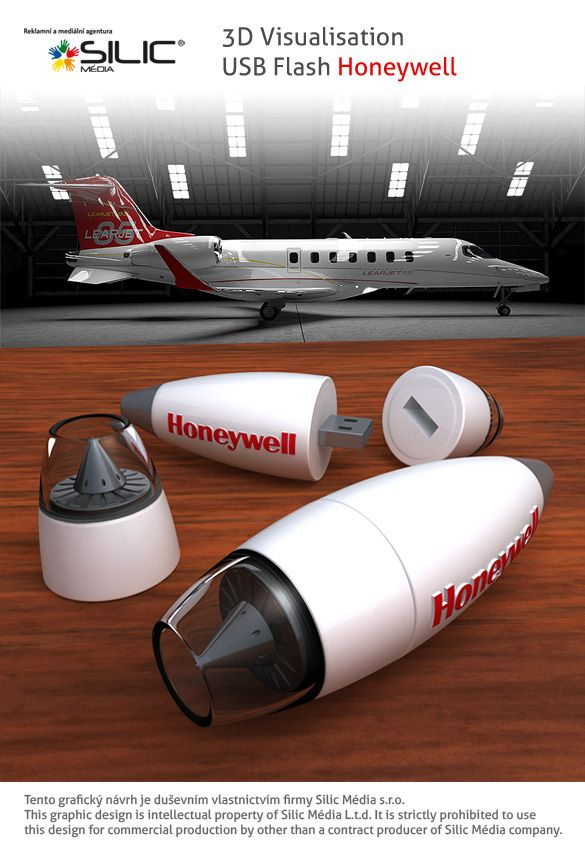 3D vizualizace USB Flash Honeywell