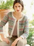 Additional view of Gabrielle Pima Cotton Cropped Jacket