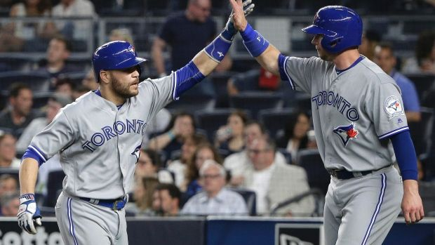 Russell Martin & Michael Saunders are the first Canadian teammates in MLB history to hit a home run in the same inning