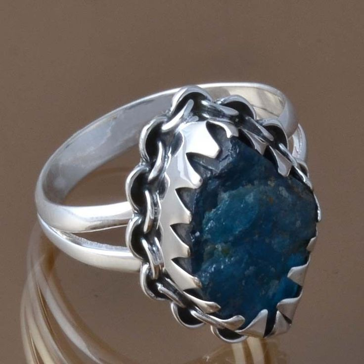 925 STERLING SILVER FANCY APETITE RING 4.38g DJR8368 SZ-7 #Handmade #Ring