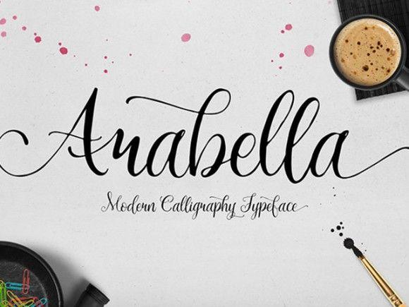TheFREE Arabella Font by MySunday