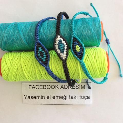 Makrome göz-nazar_Evil_Eye_Bracelet-bileklikler-bilezikler sipariş alıyorum. Makrome #evil #eye #bracelet #nazar #göz #bileklikler #siparişalıyorum #foca #mavi #sarı #beyaz #siyah #bilezik #bileklik #l'mtakingorders #whammy #takı #jewelry #handmade #fokai #takı #jewelry #turkuaz
