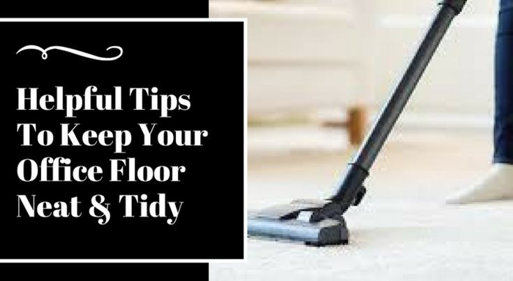 Office Flooring Cleaning Service Tips & Tricks