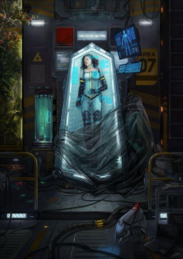 snow white by dandelion s cryosleep sci fi scifi