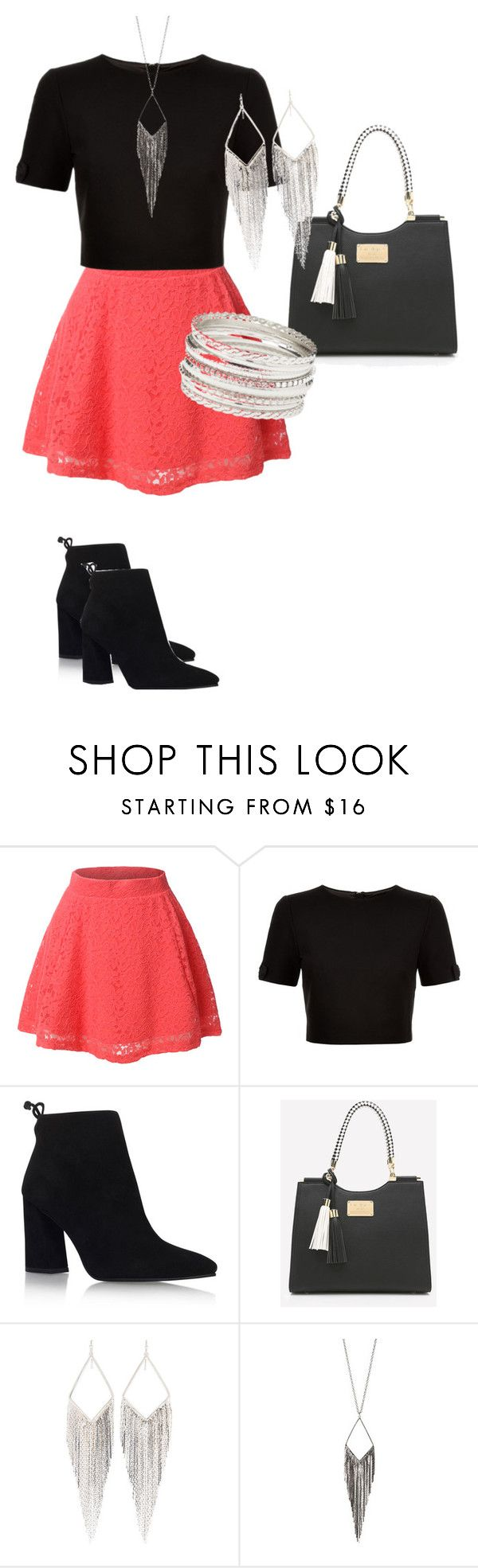"""""""Dress"""" by emy-belle on Polyvore featuring mode, LE3NO, Ted Baker, Stuart Weitzman, Jules Smith et Charlotte Russe"""