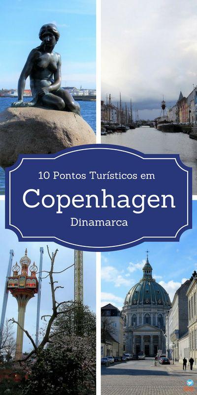 10 PONTOS TURÍSTICOS PARA QUEM VAI PELA PRIMEIRA VEZ  A COPENHAGEN, na Dinamarca