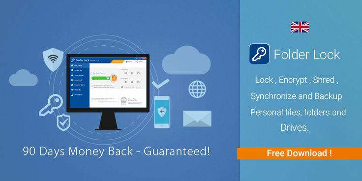 Folder Lock - Save your confidential data in encrypted locker.  #Encryption #Locker #Ransomware #FolderLock
