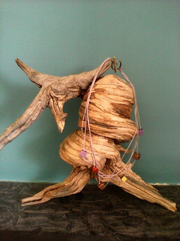 Handmade necklace alu beads by astranthi