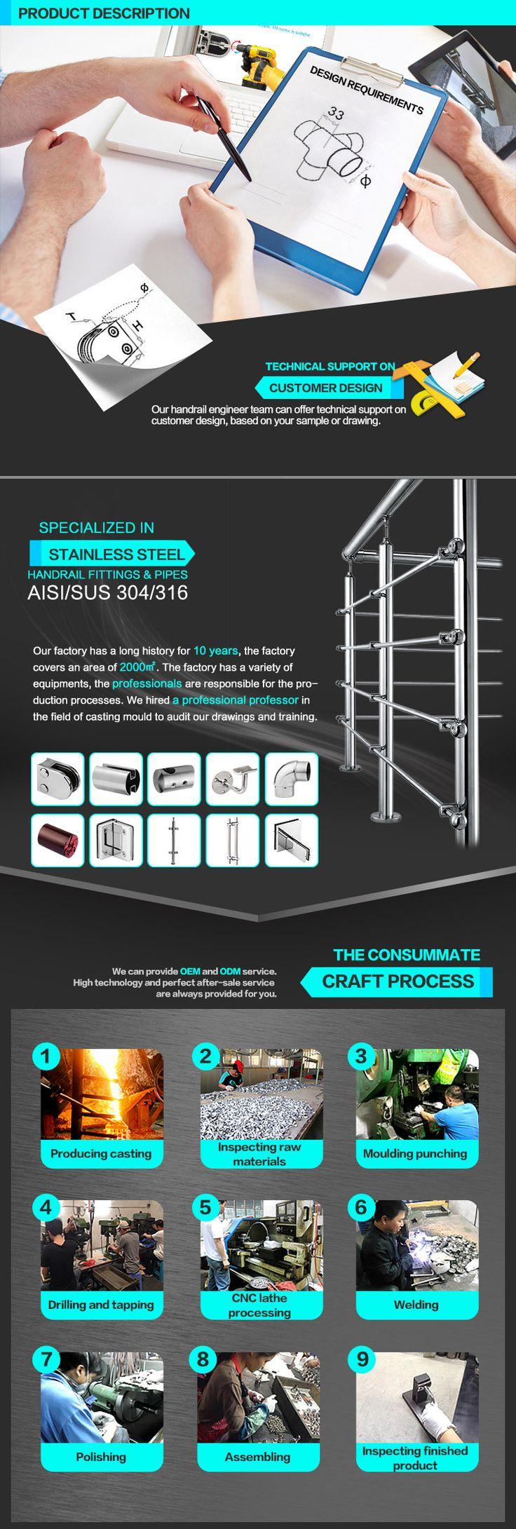 Stainless steel baluster tube stainless steel balustrade stainless steel handrail
