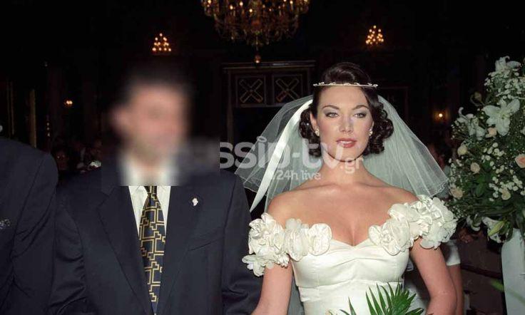 Ο γάμος που δε θέλει να θυμάται η Τατιάνα Στεφανίδου [Photos]