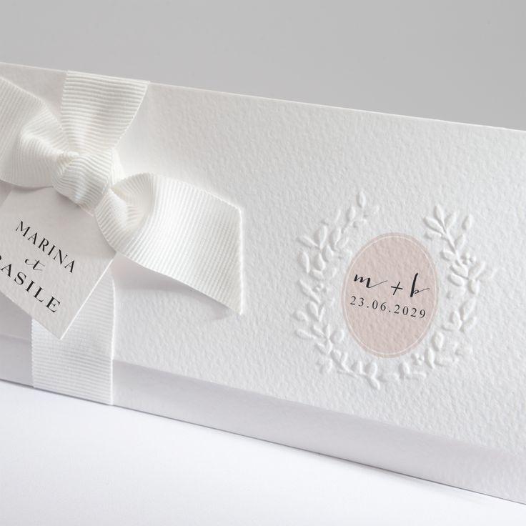 18 best Faire part mariage pochette horizontale images on Pinterest