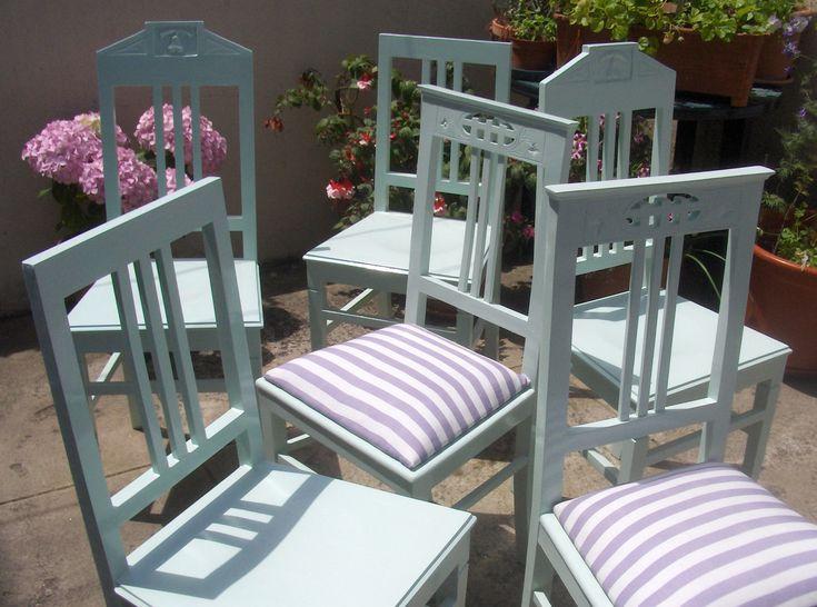 cadeiras renovadas. <3