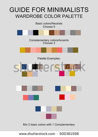 Wardrobe minimalist color palette vector - guide   accent, basic, beige, blog, blogger, blue, bright, brush, chart, closet, clothes, cold, color, compare, complementary, create, dark, fabric, fashion, fit, gray, grey, guide, match, material, minimal, minimalist, mix, neutral, paint, palette, perfect, season, set, stain, suit, tone, trend, trendy, tutorial, vector, wardrobe, warm, white, year, your