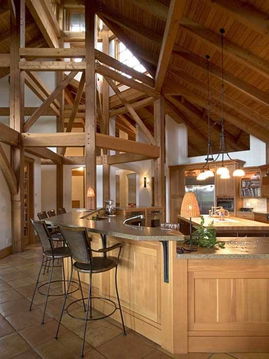 43 best images about timber home kitchens on pinterest timber frame homes the unique and log - Incredible swedish home design ideas that can make you drooling ...