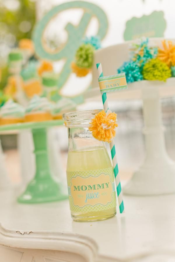 Sea Side + Beach, Gender Neutral Baby Shower