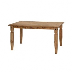 Corona Mexican Pine 1500mm Dining Table CR801  www.easyfurn.co.uk